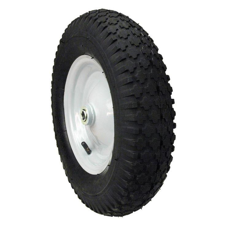 Maxpower Hub Knobby Tread Wheelbarrow Wheel