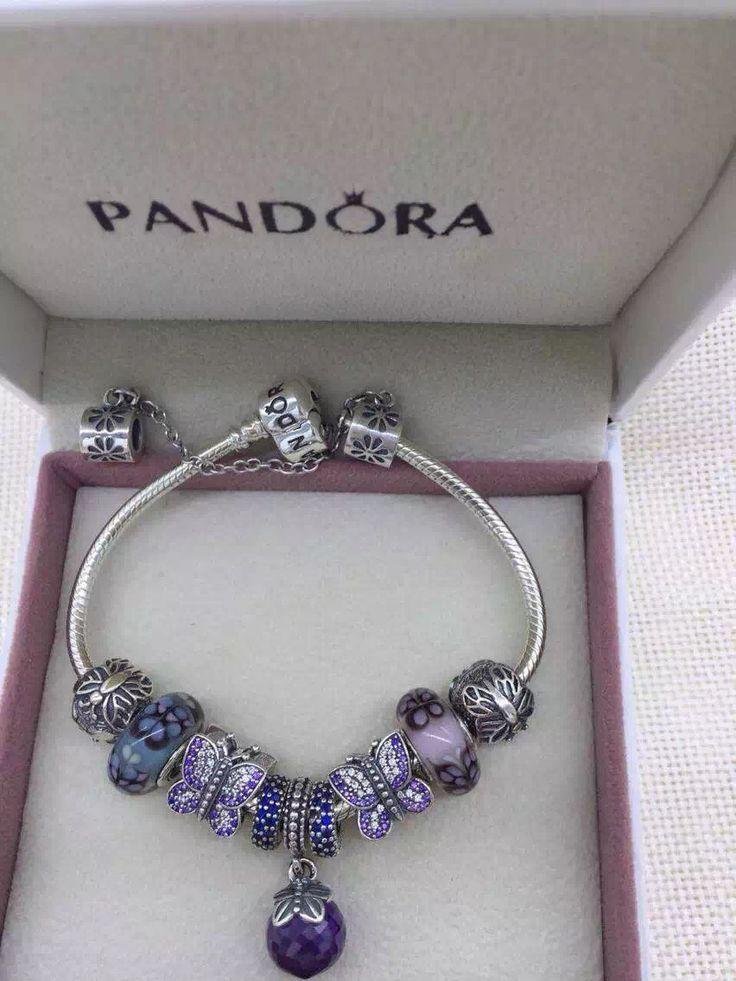 Pandora Charm Bracelet. PANDORA Bracelet Ideas. For more great pins go to @KaseyBelleFox