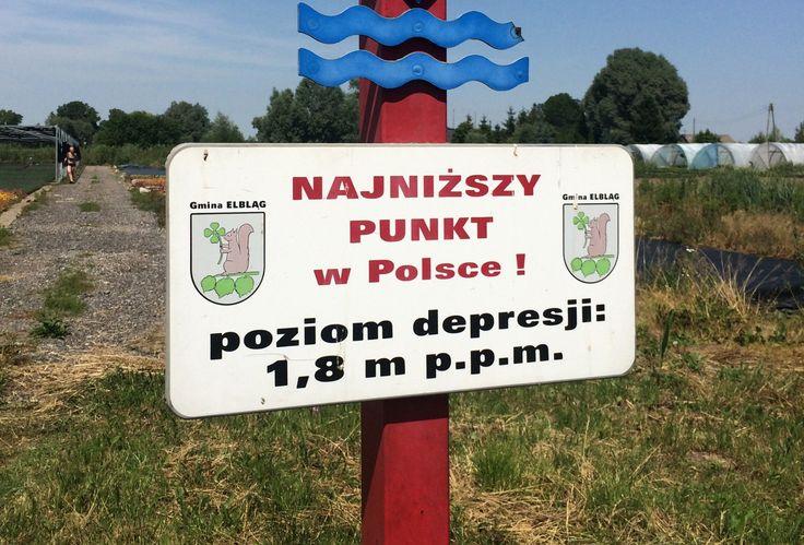 Szczyt a właściwie dno polskiej depresji znajduje się 1,8 m p.p.m. Oczywiście nasza 'polska depresja' nie może się równać z tą amerykańską -najniżej położony punkt w Ameryce Północnej - leży 86 m p.p.m. Staruję z...