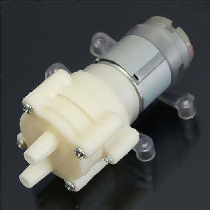 New Priming Diaphragm Mini Pump Spray Motor 12V Micro Pumps For Water Dispenser 90 mm x 40 mm x 35 mm Max Suction 2m
