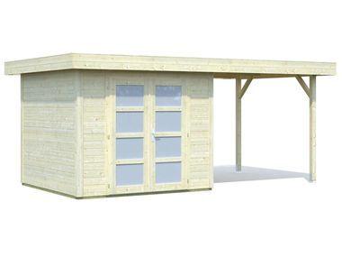 Palmako Gartenhaus Lara mit Seitendach