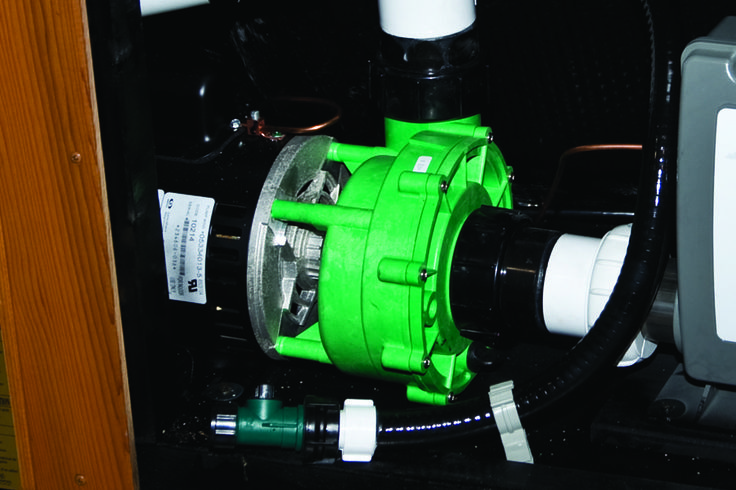 Hydropool's Evergreen jet pumps deliver up to 30% more power than other hot tub pumps; while consuming an average of 23% less power!