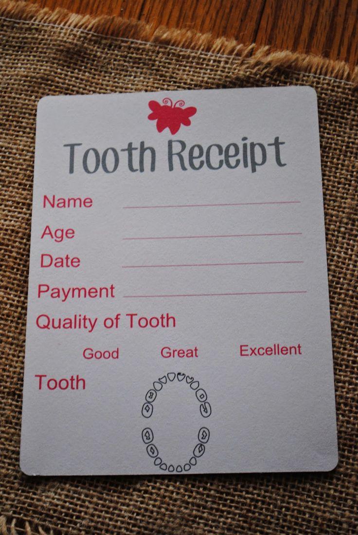 DIY Tooth Fairy Kit (FREE Silhouette Studio Cut Files)