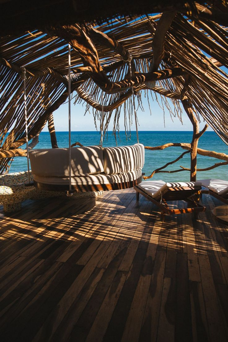 Tree house hotel in Tulum Mexico ↞♕✦∘Pinterest // anakormas∘✦♕↠