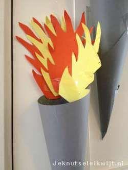 Fakkel met Olympisch Vuur