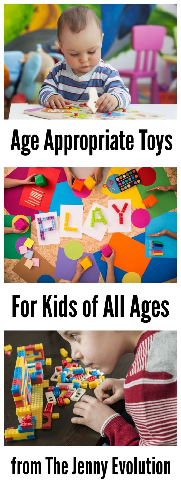 Age Appropriate Toys for All Ages - Perfect for the new baby in your life!