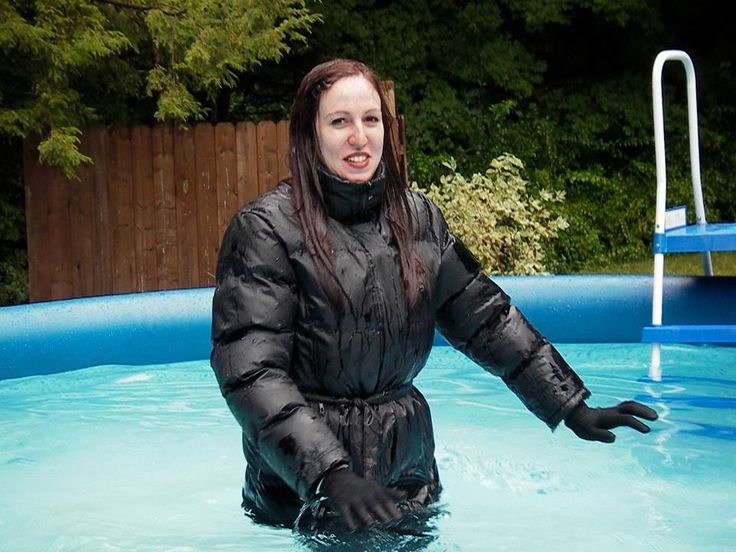 Swimming Pool Clothing : Best images about swimming in clothes and bath wetlook