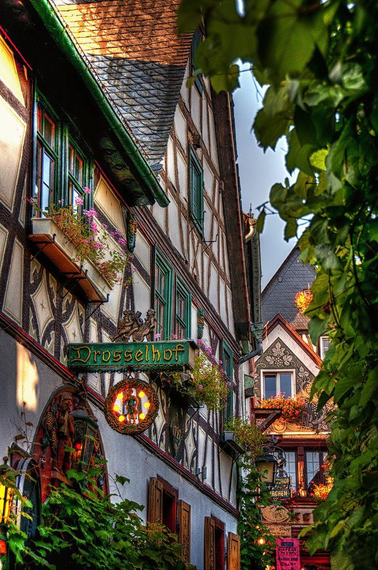 Rüdesheim am Rhein . Hessen Germany
