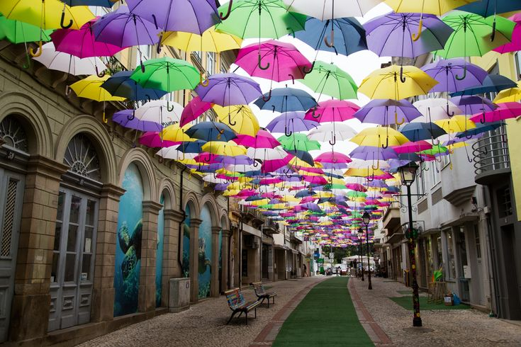 Streets of Agueda, Portugal by Andrei Snitko