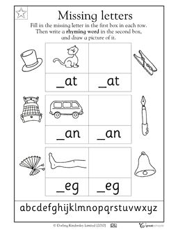 Printables Rhyming Words Reception Class 1000 images about reception class on pinterest math activities each of these rhyming word pairs is missing its first letter in this early reading worksheet your child gets practice identifyin