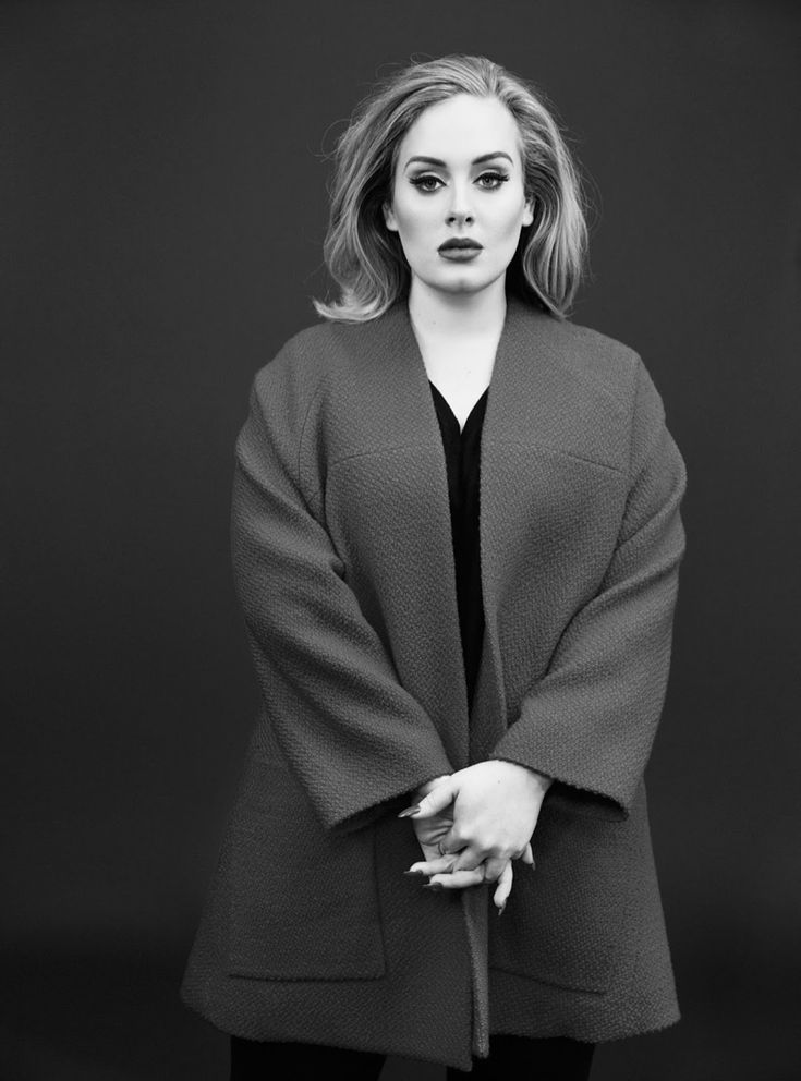 Adele talks to the magazine about taking a break from social media when working on her album