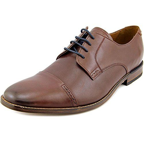 Johnston & Murphy Hernden Men Moc Toe Leather Tan Oxford