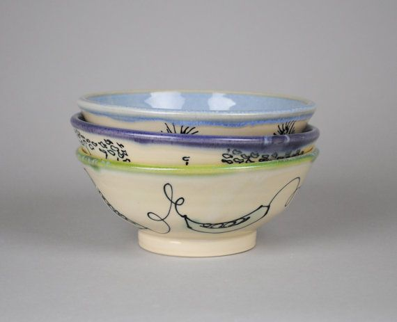 Soup Bowl by APrydePottery $35 Click today to see details