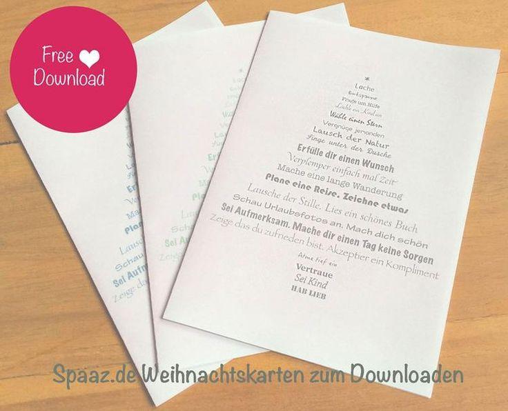Sehe dir das Foto von Spaaz-de mit dem Titel Pünktlich zur Adventszeit hat Spaaz.de für dich ein Weihnachtskarten-Freebie gemacht!    Den Freebie zum Downloaden findest du im Spaaz.de Blog!  und andere inspirierende Bilder auf Spaaz.de an.