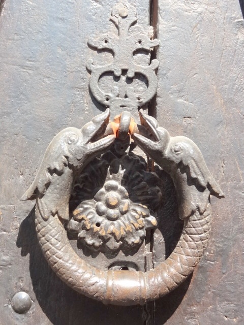 On A Door In Revel Southwest France Photo By Nancy Todd