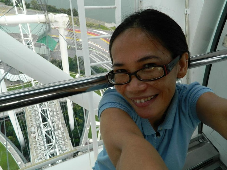 inside the Singapore Flyer