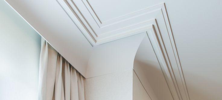 Orac Decor Cornice as Curtain Profile