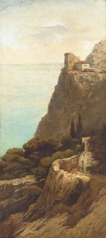 Lev Lagorio - Cliff-top dwelling