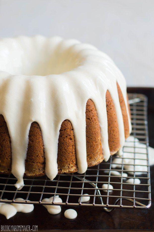 TOMATO SOUP BUNDT CAKE with CREAM CHEESE GLAZE [USA] [brooklynhomemaker]