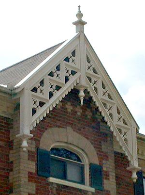 719 best images about victorian gingerbread on pinterest for Architectural gingerbread trim