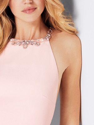 Comprar vestido de cóctel rosa | Guillermina | Pronovias
