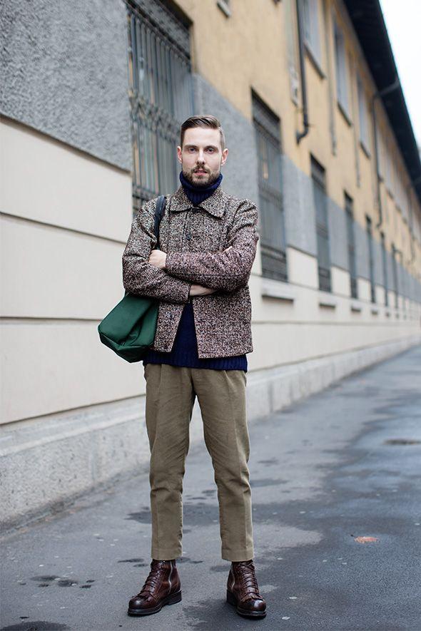Tuesday, February 19, 2013  On the Street…..via Umbria, Milan