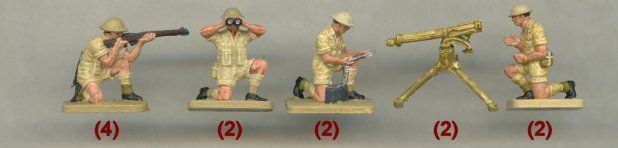 Plastic Soldier Review - Airfix 8th Army