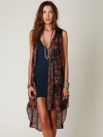 bohemian chic....totally love the whole look! Want!