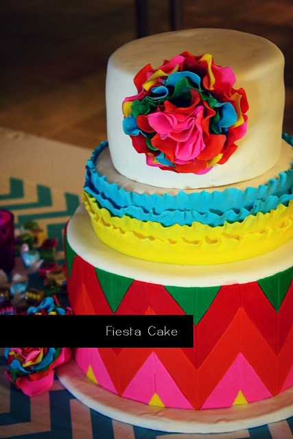 fiesta themed wedding cake 119 best images about birthday ideas on 14226