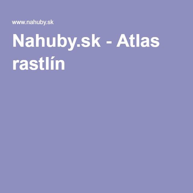 Nahuby.sk - Atlas rastlín