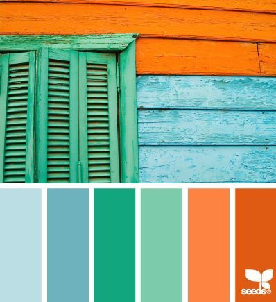 Light Blue Caribbean Emerald Green Sea Like This Except For The Orange Bright