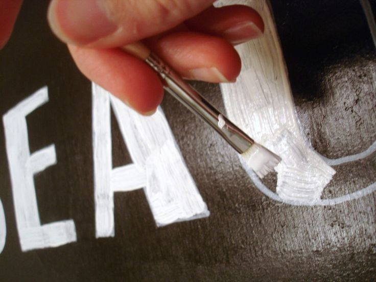 DIY: how to hand letter signs like a pro. (SMART!!!!)