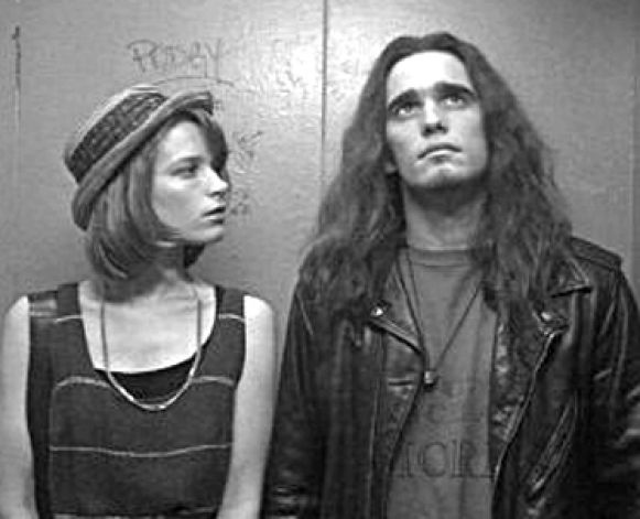 """""""Singles,"""" a movie to Seattle's grunge scene, filmed at the OK Hotel, a favorite punk and grunge music club under the Alaskan Way Viaduct. The club closed after the Nisqually Earthquake damaged its building in 2001. It has since reopened as a building of artist suites and apartments. Photo: Publicity Photo  / SL"""