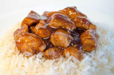Varomeando: Pollo con salsa de miel, limón y soja