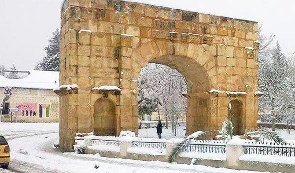 En photos : Admirez la beauté de la Tunisie sous la neige : Tunisie : PROFITER : Golf - Nature - Sport Tuniscope