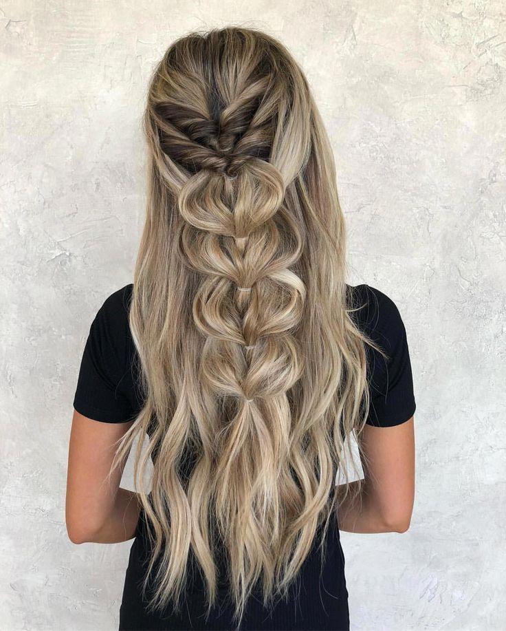 #braids by #taylorlambhair • #color and #extensions • #model @dthompsy �� #braidscrown #braidsforlonghair