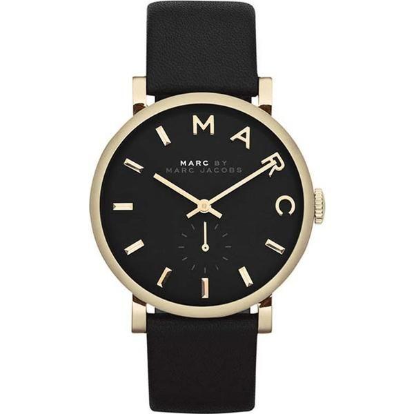 Marc Jacobs Baker Gold Black Watch