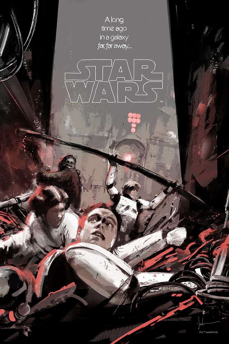 Cool Art: Star Wars Posters by Jock & Mike Mitchell. See them here