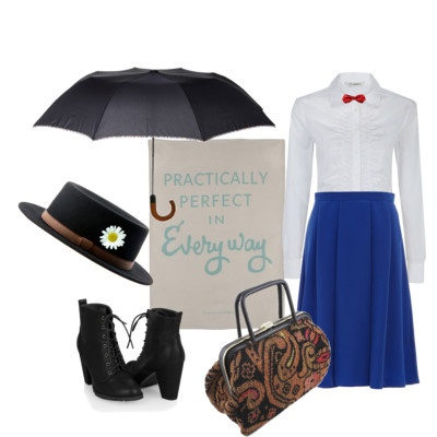 My Halloween Costume...Mary Poppins! Seeing as I am a real life nanny I believe this is appropriate.