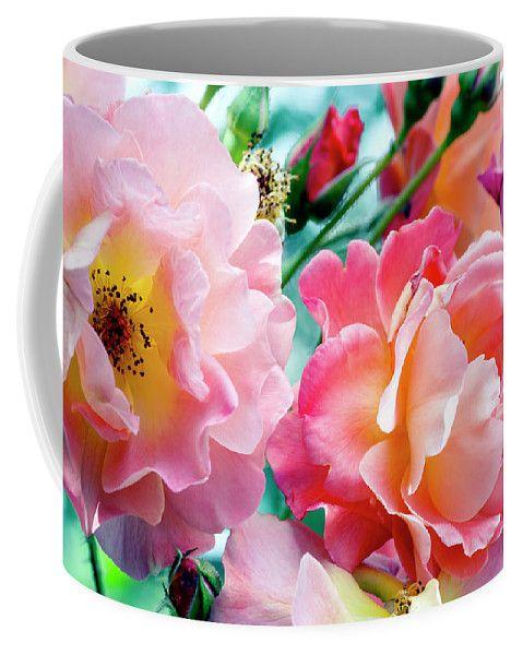 Sultry Rose By Irina Safonova Coffee Mug featuring the photograph Sultry Rose by Irina Safonova#IrinaSafonovaFineArtPhotography #food #Rustic #ArtForHome#CoffeeMug