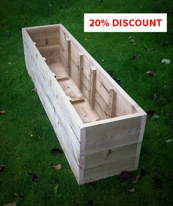 20 Sale Extra Large Wooden Planters Raised Beds 400 x 300