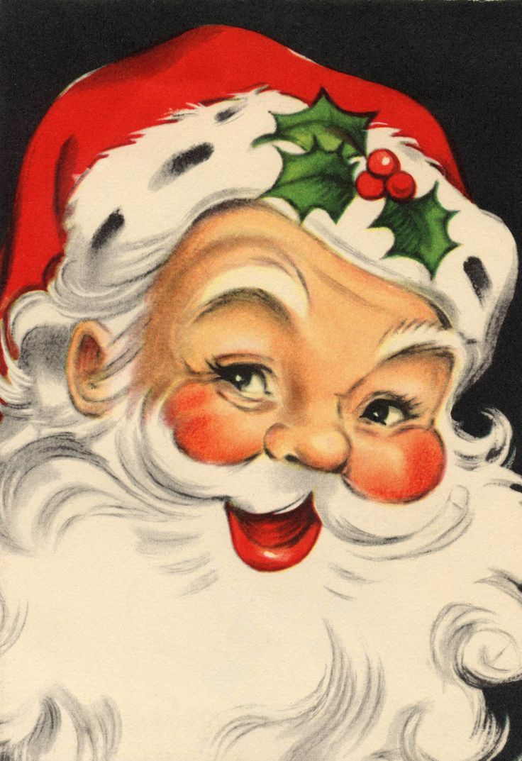 3908 Best Vintage Christmas Greeting Cards Four Images On