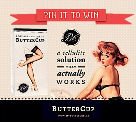 For details and entry: http://mybuttercup.ca/539/  #anti #cellulite
