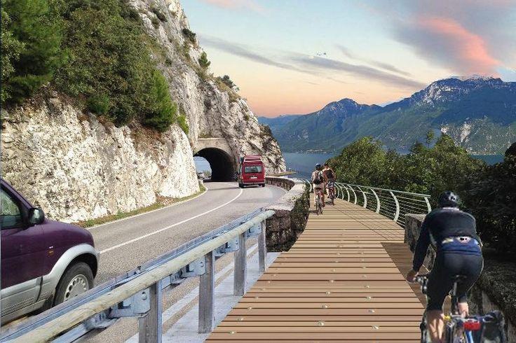 Avviati i lavori per la realizzazione degli ultimi chilometri che collegano al Trentino. Altri progetti già in cantiere