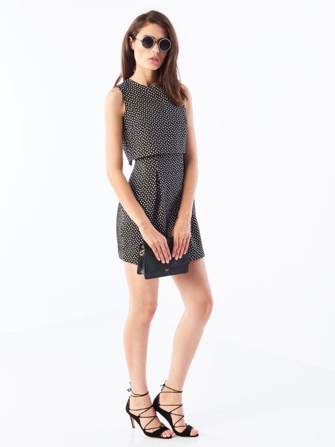 Sukienka z pudełkową bluzką, MOHITO