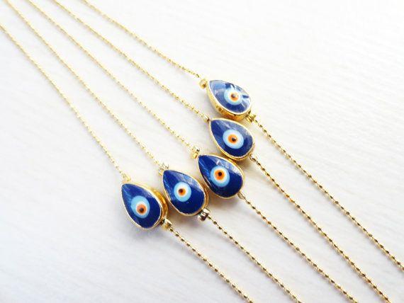 Wholesale evil eye bracelets  set of 5  turkish eye by Handemadeit, $27.50