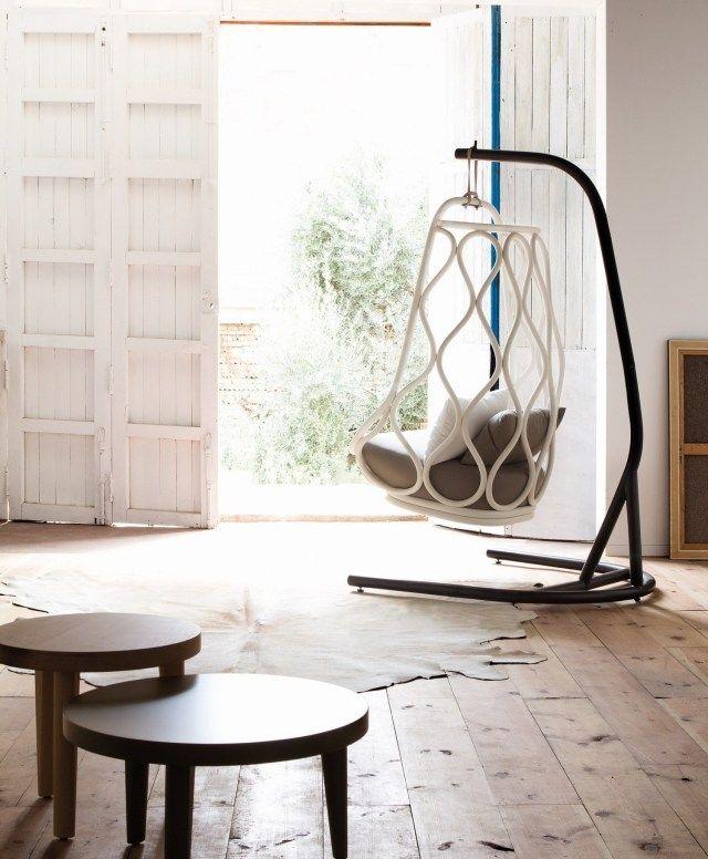 Les 25 meilleures id es de la cat gorie fauteuil de jardin - Fauteuil suspendu exterieur ...