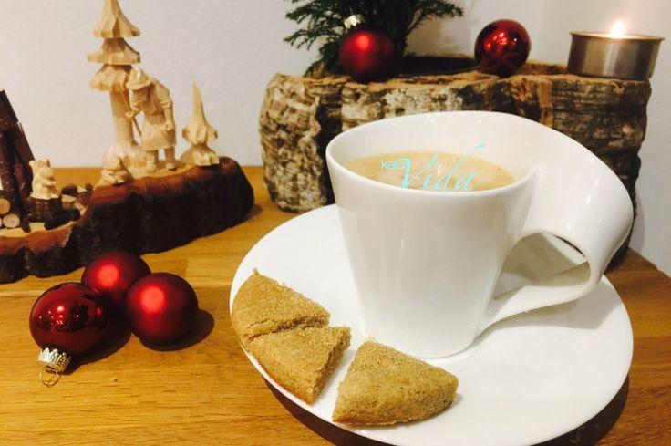 Weihnachtliche Mandel-Spekulatius-Ecken