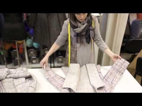 Елена Найденова: валяная одежда глазами закройщика - YouTube