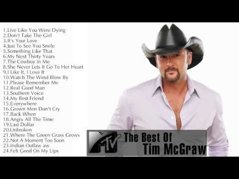 The Best Of Tim McGraw ||Tim McGraw's Greatest Hits Update 2014